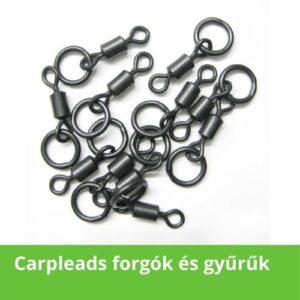 Carpleads forgók és gyűrűk