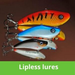 Lipless lures